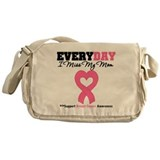 Breast Cancer Miss Mom Messenger Bag