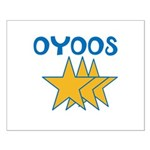 OYOOS Stars design Small Poster