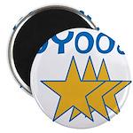 OYOOS Stars design Magnet