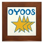 OYOOS Stars design Framed Tile