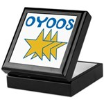 OYOOS Stars design Keepsake Box