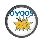 OYOOS Stars design Wall Clock