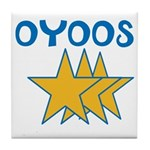 OYOOS Stars design Tile Coaster