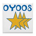 OYOOS Stars design Tile Coaster