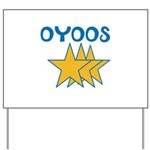 OYOOS Stars design Yard Sign