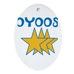 OYOOS Stars design Ornament (Oval)