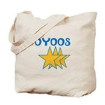 OYOOS Stars design Tote Bag