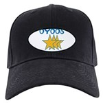 OYOOS Stars design Black Cap