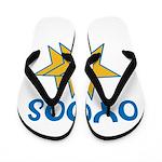 OYOOS Stars design Flip Flops