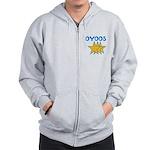 OYOOS Stars design Zip Hoodie