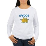 OYOOS Stars design Women's Long Sleeve T-Shirt