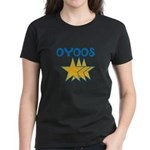 OYOOS Stars design Women's Dark T-Shirt