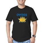 OYOOS Stars design Men's Fitted T-Shirt (dark)