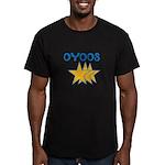 OYOOS Stars design Men's Fitted T-Shirt (dark)
