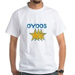 OYOOS Stars design White T-Shirt