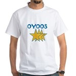 OYOOS Stars design White T-Shirt