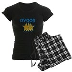 OYOOS Stars design Women's Dark Pajamas