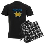 OYOOS Stars design Men's Dark Pajamas