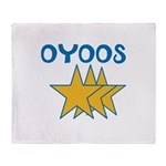 OYOOS Stars design Throw Blanket