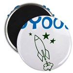 OYOOS Kids Rocket design Magnet