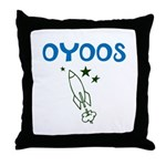 OYOOS Kids Rocket design Throw Pillow