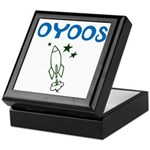 OYOOS Kids Rocket design Keepsake Box