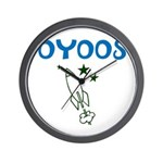OYOOS Kids Rocket design Wall Clock