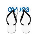 OYOOS Kids Rocket design Flip Flops