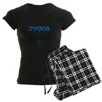 OYOOS Kids Rocket design Women's Dark Pajamas