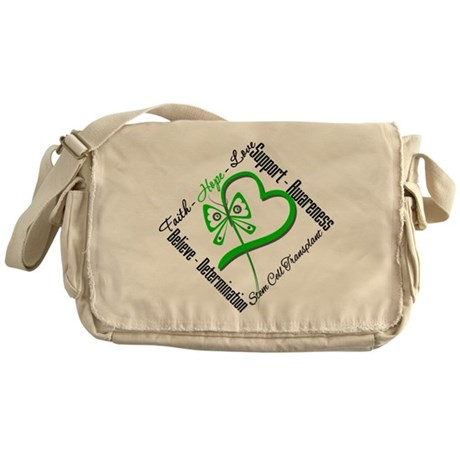 StemCellTransplant Heart Messenger Bag