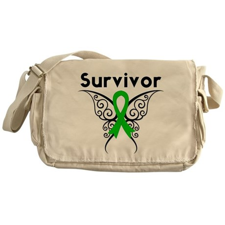 Butterfly SCT BMT Survivor Messenger Bag