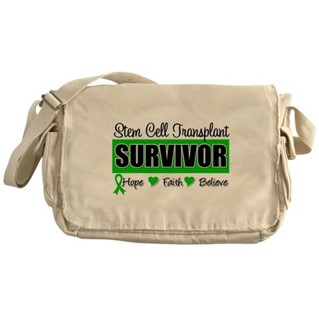 Stem Cell Transplant Survivor Messenger Bag