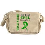StemCellSurvivorButterfly Messenger Bag