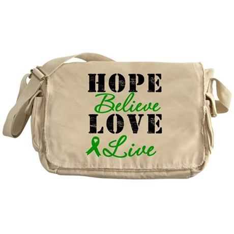SCT BMT Hope Motto Messenger Bag