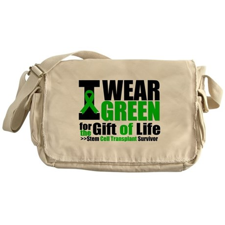 SCT I Wear Green Messenger Bag