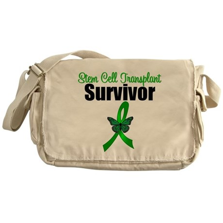 SCT Survivor Ribbon Messenger Bag