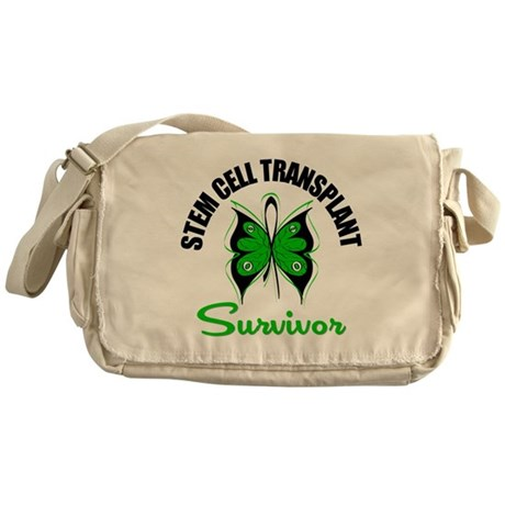 SCT Survivor Butterfly Messenger Bag