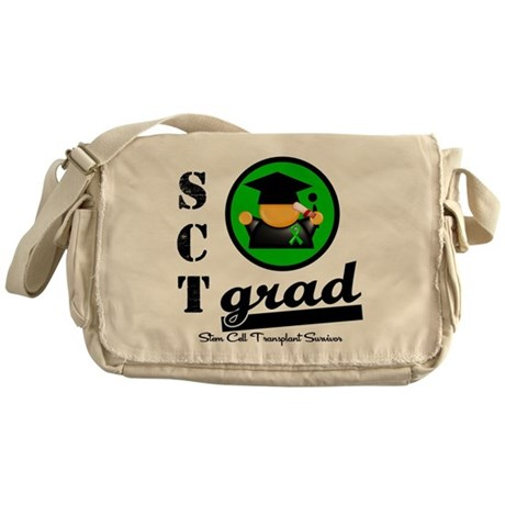 Stem Cell Transplant Grad Messenger Bag