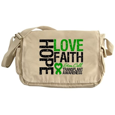 SCT Hope Love Faith Messenger Bag
