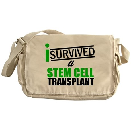 StemCellTransplant Survivor Messenger Bag