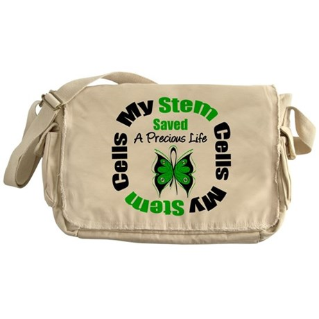 Stem Cells Saved Life Messenger Bag