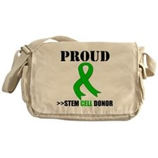 Proud Bone Marrow Donor Messenger Bag