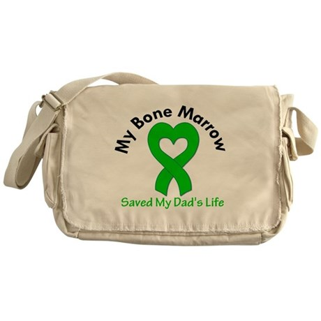 BoneMarrowSavedDad Messenger Bag