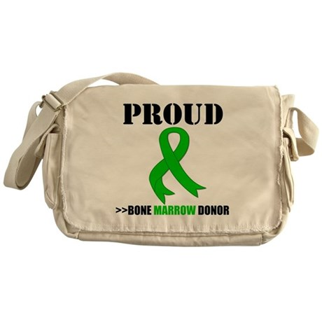 ProudBoneMarrowDonor Messenger Bag