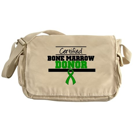 Cert. Stem Cell Donor Messenger Bag
