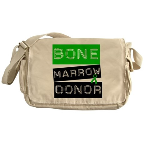 Bone Marrow Donor (Label) Messenger Bag