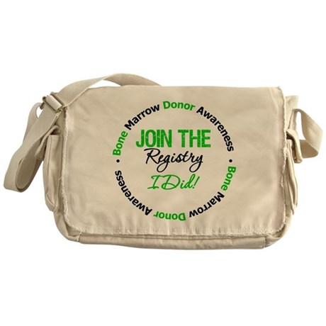 BMT Survivor Messenger Bag