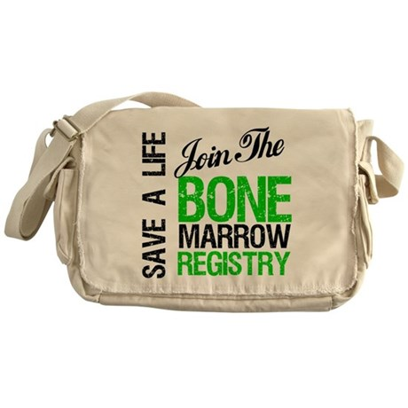 Join The Bone Marrow Registry Messenger Bag
