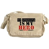 Lung Cancer Hero Grandpa Messenger Bag