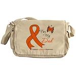 Leukemia Ribbon Dad Messenger Bag